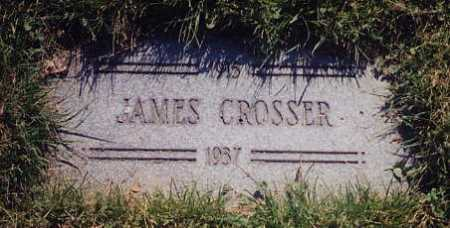 CROSSER, JAMES - Cuyahoga County, Ohio | JAMES CROSSER - Ohio Gravestone Photos