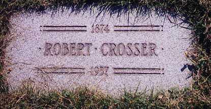 CROSSER, ROBERT - Cuyahoga County, Ohio | ROBERT CROSSER - Ohio Gravestone Photos