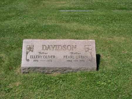 URGAN DAVIDSON, PEARL - Cuyahoga County, Ohio   PEARL URGAN DAVIDSON - Ohio Gravestone Photos