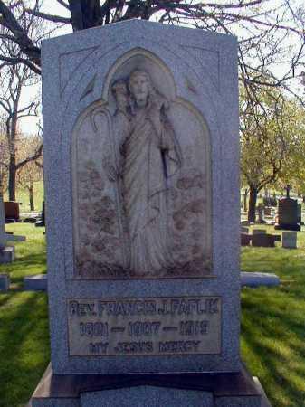 FAFLIK, FRANCIS JOHN - Cuyahoga County, Ohio | FRANCIS JOHN FAFLIK - Ohio Gravestone Photos