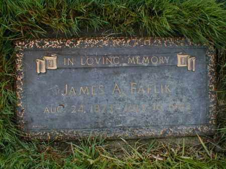 FAFLIK, JAMES A. - Cuyahoga County, Ohio | JAMES A. FAFLIK - Ohio Gravestone Photos