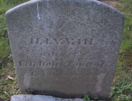FAUST, HANNAH - Cuyahoga County, Ohio | HANNAH FAUST - Ohio Gravestone Photos