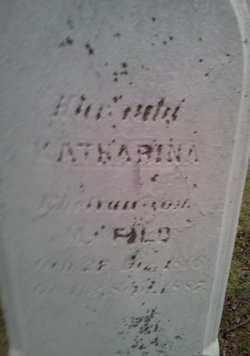 FILD, KATHARINA - Cuyahoga County, Ohio   KATHARINA FILD - Ohio Gravestone Photos