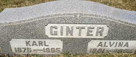 GINTER, KARL - Cuyahoga County, Ohio | KARL GINTER - Ohio Gravestone Photos