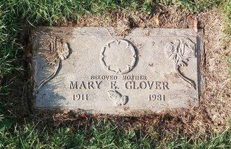 GLOVER, MARY ELLEN - Cuyahoga County, Ohio | MARY ELLEN GLOVER - Ohio Gravestone Photos
