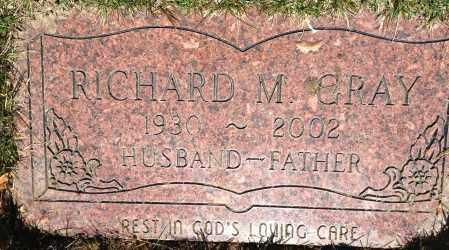 GRAY, RICHARD M - Cuyahoga County, Ohio | RICHARD M GRAY - Ohio Gravestone Photos