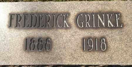 GRINKE, FREDERICK - Cuyahoga County, Ohio   FREDERICK GRINKE - Ohio Gravestone Photos
