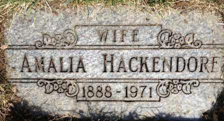 HACKENDORF, AMALIA - Cuyahoga County, Ohio | AMALIA HACKENDORF - Ohio Gravestone Photos