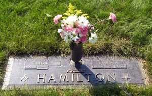 HAMILTON, LAURA ANN - Cuyahoga County, Ohio | LAURA ANN HAMILTON - Ohio Gravestone Photos
