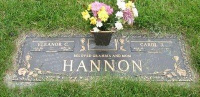CAIRNS HANNON, ELEANOR CATHERINE - Cuyahoga County, Ohio | ELEANOR CATHERINE CAIRNS HANNON - Ohio Gravestone Photos