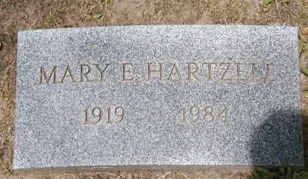 HARTZELL, MARY E. - Cuyahoga County, Ohio | MARY E. HARTZELL - Ohio Gravestone Photos