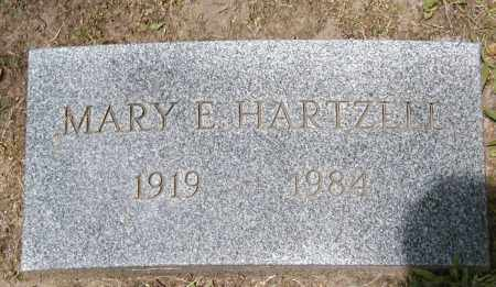 HARTZELL, MARY E. - Cuyahoga County, Ohio | MARY E. HARTZELL - Ohio Gravestone Photos