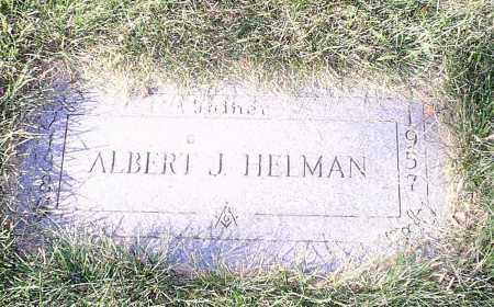 HELMAN, ALBERT - Cuyahoga County, Ohio   ALBERT HELMAN - Ohio Gravestone Photos