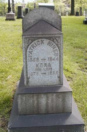HINES, NORA - Cuyahoga County, Ohio | NORA HINES - Ohio Gravestone Photos