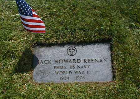 KEENAN, JOHN HOWARD - Cuyahoga County, Ohio   JOHN HOWARD KEENAN - Ohio Gravestone Photos