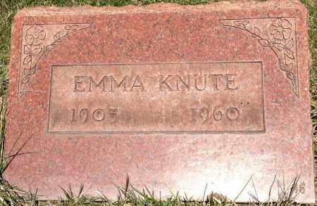 KNUTE, EMMA - Cuyahoga County, Ohio | EMMA KNUTE - Ohio Gravestone Photos