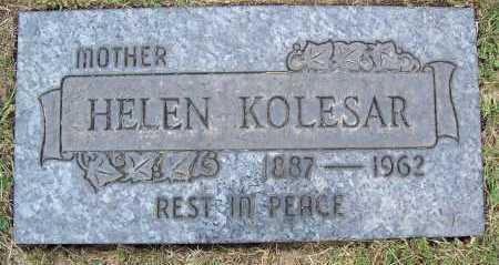 SZUCS KOLESAR, HELEN - Cuyahoga County, Ohio | HELEN SZUCS KOLESAR - Ohio Gravestone Photos