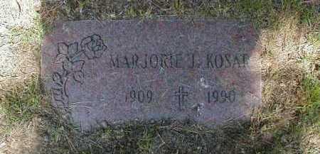 KOSAR, MARJORIE - Cuyahoga County, Ohio | MARJORIE KOSAR - Ohio Gravestone Photos