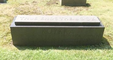 BRITTON KOYKKA, FREDERICA - Cuyahoga County, Ohio | FREDERICA BRITTON KOYKKA - Ohio Gravestone Photos