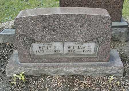KRAPF, WILLIAM F. - Cuyahoga County, Ohio | WILLIAM F. KRAPF - Ohio Gravestone Photos