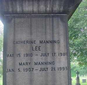 MANNING LEE, CATHERINE - Cuyahoga County, Ohio | CATHERINE MANNING LEE - Ohio Gravestone Photos