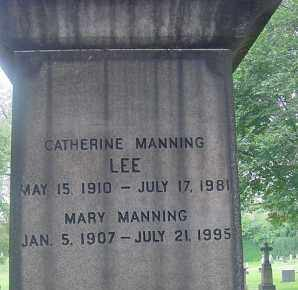 MANNING, MARY - Cuyahoga County, Ohio | MARY MANNING - Ohio Gravestone Photos