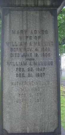 MANNING, WILLIAM - Cuyahoga County, Ohio | WILLIAM MANNING - Ohio Gravestone Photos