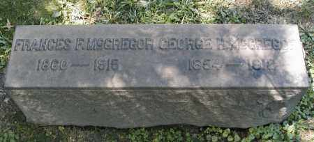 FOSTER MCGREGOR, FRANCES - Cuyahoga County, Ohio | FRANCES FOSTER MCGREGOR - Ohio Gravestone Photos