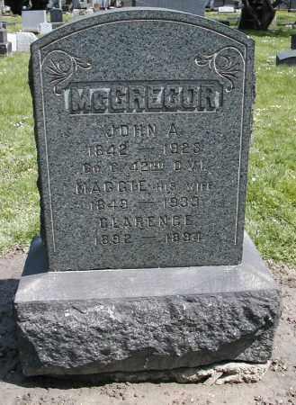 MCCRACKEN MCGREGOR, MAGGIE - Cuyahoga County, Ohio   MAGGIE MCCRACKEN MCGREGOR - Ohio Gravestone Photos