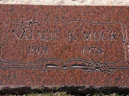 KNUTE MUCK, NATALIE - Cuyahoga County, Ohio | NATALIE KNUTE MUCK - Ohio Gravestone Photos