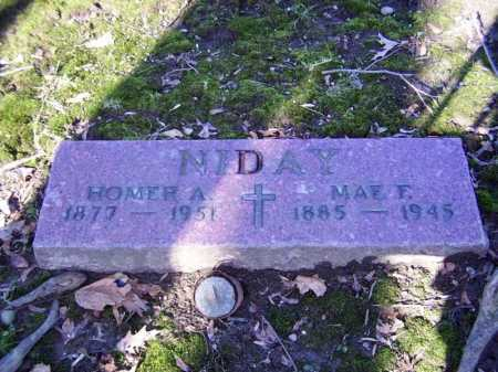 NIDAY, MAE FRANCES - Cuyahoga County, Ohio | MAE FRANCES NIDAY - Ohio Gravestone Photos