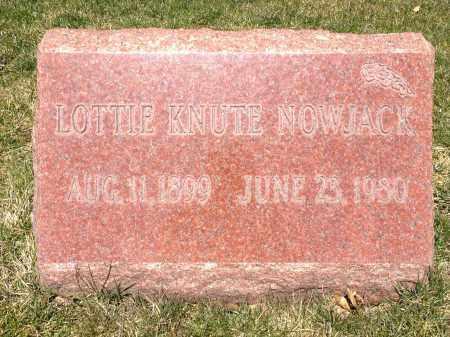 NOWJACK, LOTTIE - Cuyahoga County, Ohio | LOTTIE NOWJACK - Ohio Gravestone Photos