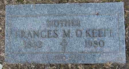 SEITZ O'KEEFE, FRANCES M. - Cuyahoga County, Ohio | FRANCES M. SEITZ O'KEEFE - Ohio Gravestone Photos