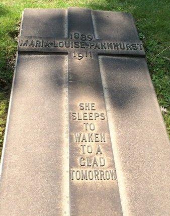 PANKHUST, MARIA LOUISE - Cuyahoga County, Ohio | MARIA LOUISE PANKHUST - Ohio Gravestone Photos
