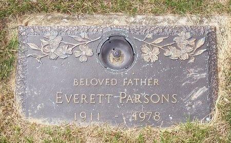PARSONS, EVERETT LEE - Cuyahoga County, Ohio | EVERETT LEE PARSONS - Ohio Gravestone Photos