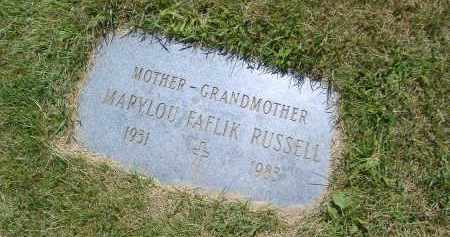RUSSELL, MARYLOU - Cuyahoga County, Ohio | MARYLOU RUSSELL - Ohio Gravestone Photos