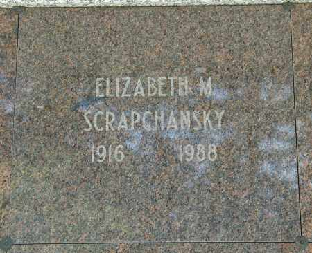 WEISENSELL SCRAPSCHANSKY, ELIZABETH M. - Cuyahoga County, Ohio | ELIZABETH M. WEISENSELL SCRAPSCHANSKY - Ohio Gravestone Photos