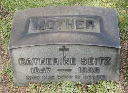 SEITZ, CATHERINE - Cuyahoga County, Ohio | CATHERINE SEITZ - Ohio Gravestone Photos