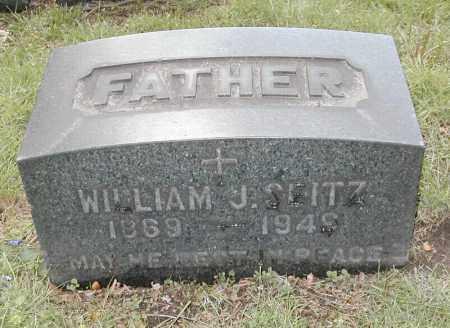 SEITZ, WILLIAM J. - Cuyahoga County, Ohio   WILLIAM J. SEITZ - Ohio Gravestone Photos