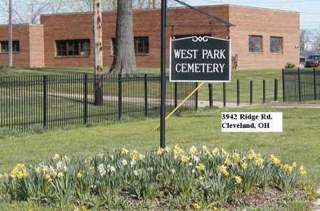 SIGN, CEMETERY - Cuyahoga County, Ohio | CEMETERY SIGN - Ohio Gravestone Photos