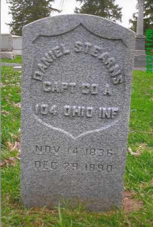STEARNS, DANIEL - Cuyahoga County, Ohio   DANIEL STEARNS - Ohio Gravestone Photos
