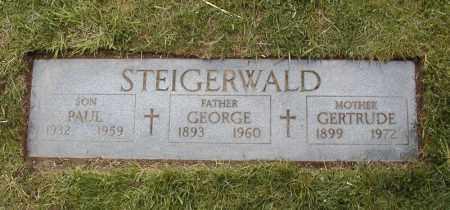 STEIGERWALD, PAUL JOSEPH - Cuyahoga County, Ohio | PAUL JOSEPH STEIGERWALD - Ohio Gravestone Photos