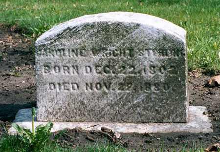 WRIGHT STERLING, CAROLINE - Cuyahoga County, Ohio | CAROLINE WRIGHT STERLING - Ohio Gravestone Photos
