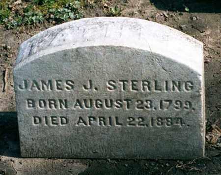 STERLING, JAMES JUSTIN - Cuyahoga County, Ohio   JAMES JUSTIN STERLING - Ohio Gravestone Photos
