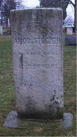 STOCKER, AMOS - Cuyahoga County, Ohio | AMOS STOCKER - Ohio Gravestone Photos