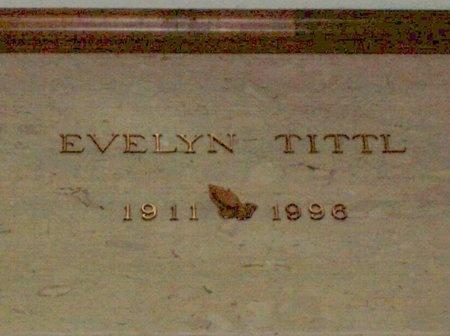 TITTL, EVELYN - Cuyahoga County, Ohio   EVELYN TITTL - Ohio Gravestone Photos