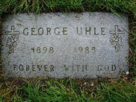 UHLE, GEORGE - Cuyahoga County, Ohio   GEORGE UHLE - Ohio Gravestone Photos