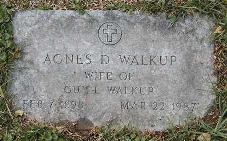 WALKUP, AGNES D. - Cuyahoga County, Ohio | AGNES D. WALKUP - Ohio Gravestone Photos
