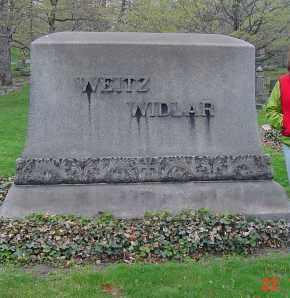 HUDSON WIDLAR, ADELINE - Cuyahoga County, Ohio | ADELINE HUDSON WIDLAR - Ohio Gravestone Photos