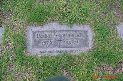 CLARKE WIDLAR, ISABELLE - Cuyahoga County, Ohio | ISABELLE CLARKE WIDLAR - Ohio Gravestone Photos